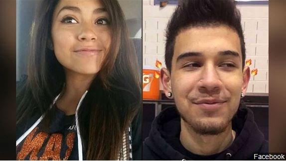Casey Marquez and Francisco Fernandez, two victims in the fatal shooting at Aztec High School