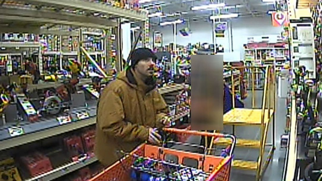 Moses Lake Police need help identifying shoplifter who swings ax at Home Depot employees