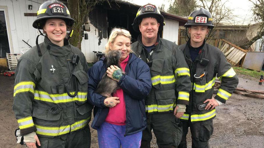 Photo: Cowlitz 2 Fire and Rescue
