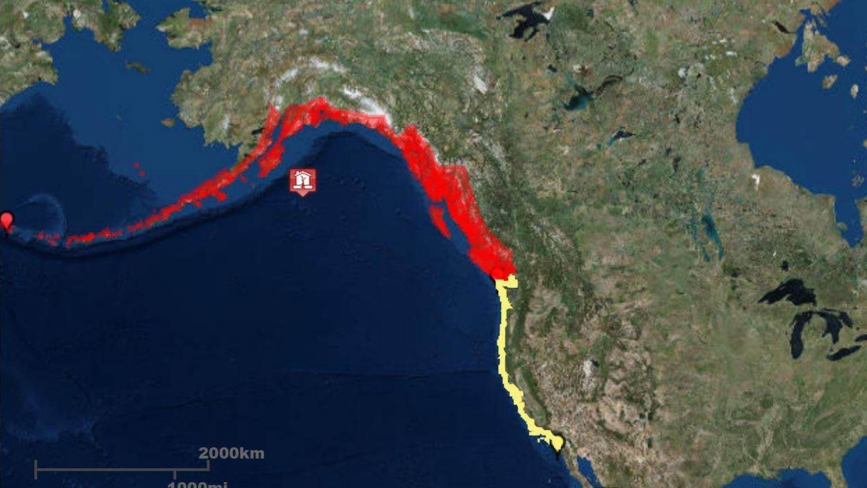 Tsunami warning withdrawn for West Coast after 8.2 magnitude quake hits Alaska