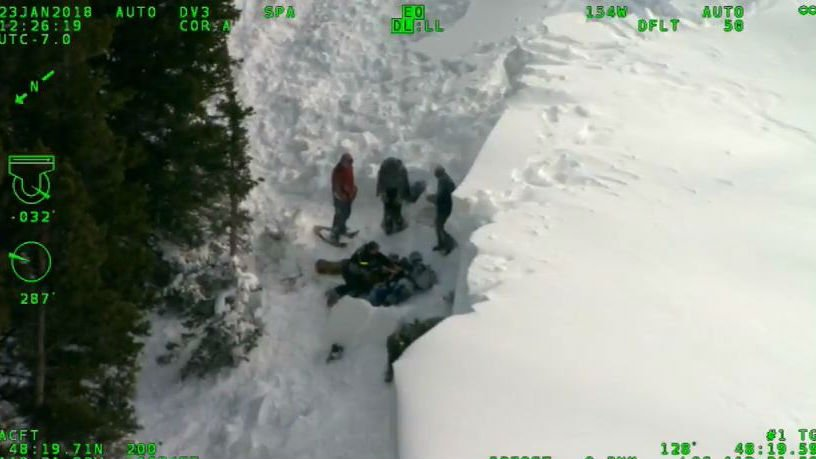2 students injured while snowshoeing near Glacier park