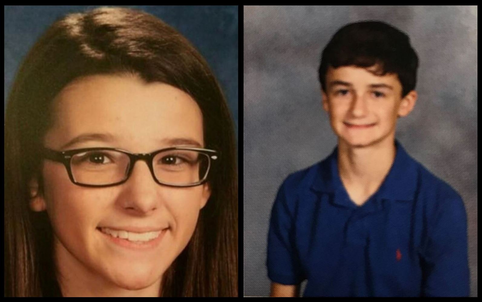 Bailey Nicole Holt and Preston Ryan Cope. Both were 15 years old.