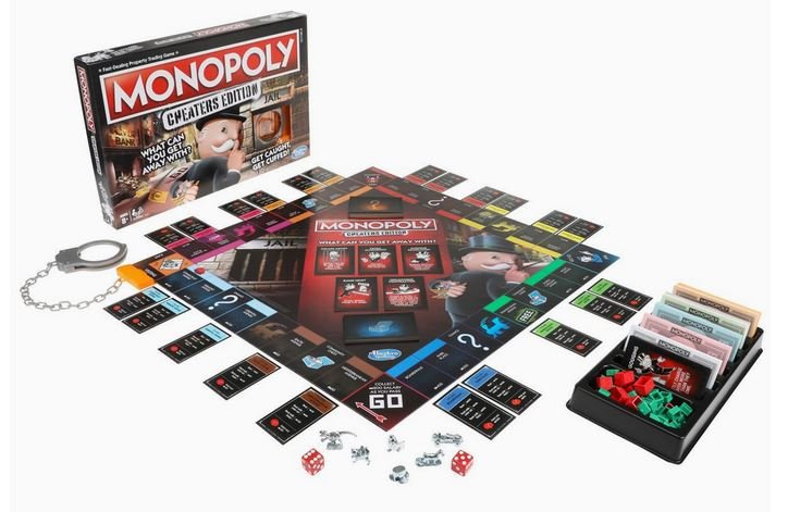 Monopoly is releasing a new edition that encourages cheating