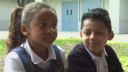 8-year-old boy saves choking classmate during Valentine's Day party