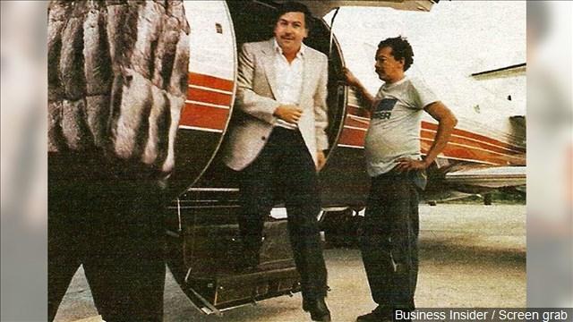 Photo: Business Insider / Screen grab of Pablo Escobar