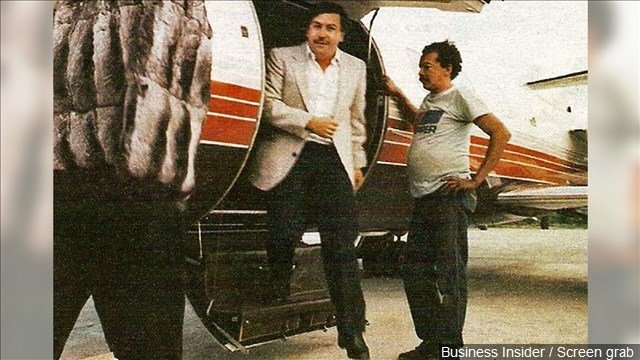 Photo: Business Insider / Screen grab of Pablo Escobar