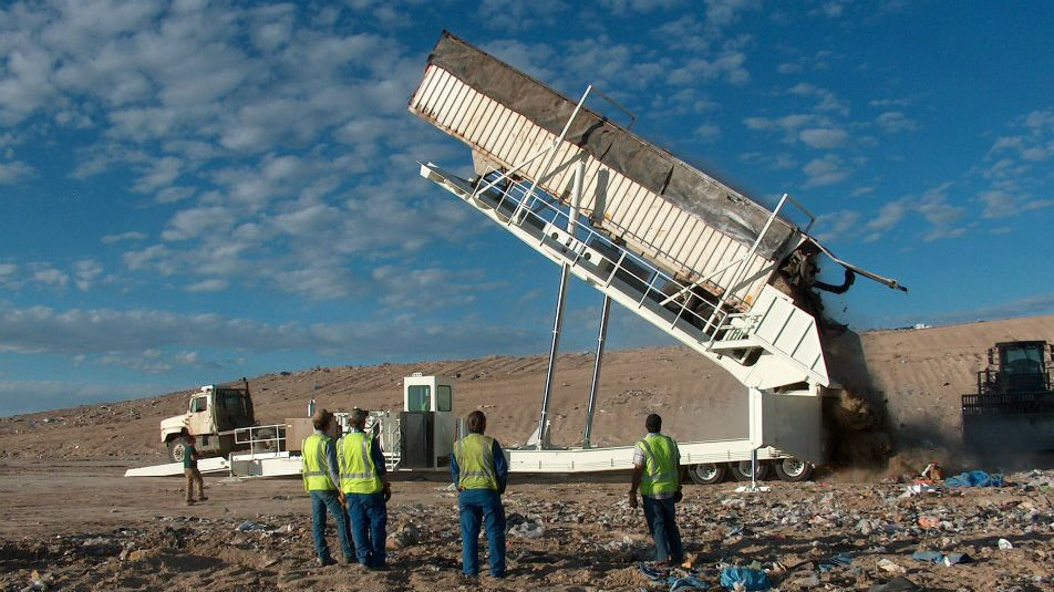 Milner Butte Landfill, photo courtesy Southern Idaho Solid Waste