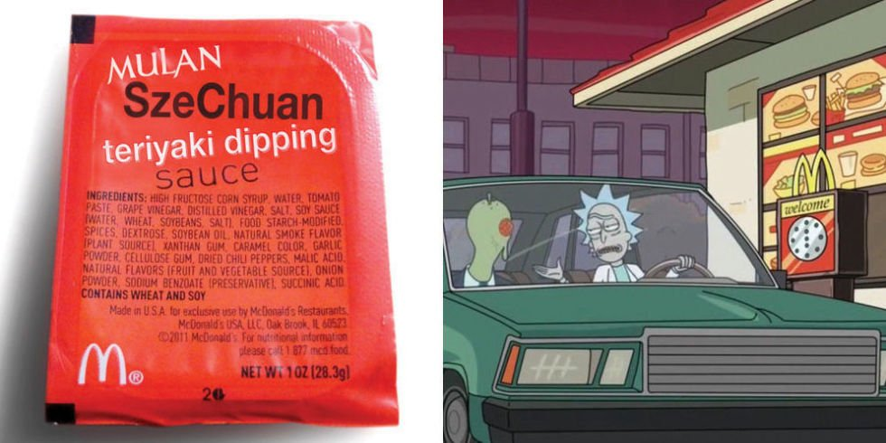 It's Coming Back! McDonald's Is Bringing Back 'Rick and Morty' Szechuan Sauce
