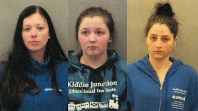 From left: Kristen M. Lauletta, Jessica S. Heyse and Ashley Helfenbein