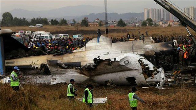 49 dead from plane that crashed while landing in Nepal
