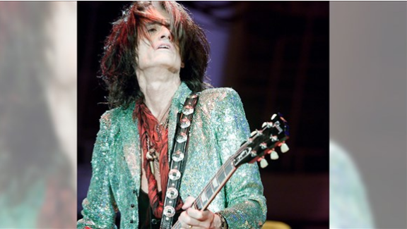 Here's a Joe. Joe Perry of The Joe Perry Project. Oh yeah, he's also in Aerosmith.