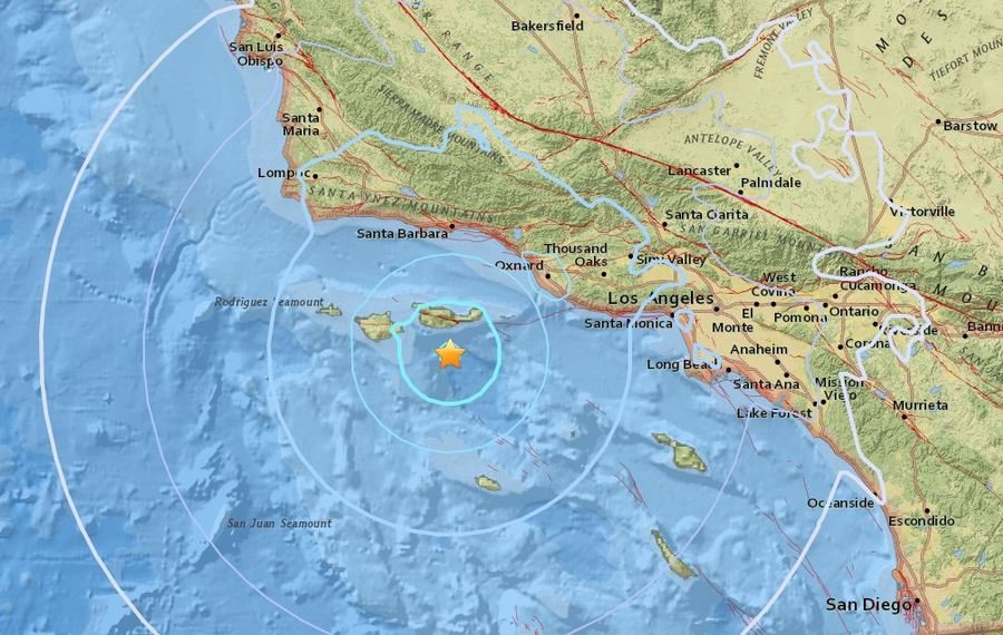 magnitude 5 3 quake strikes off southern california coastmore