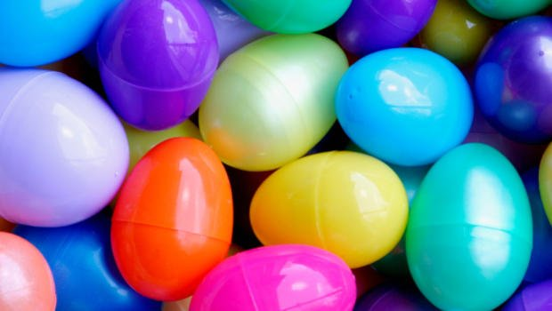 Stock image of Easter eggs