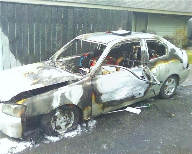 Car fire in spokane valley ruled 39 suspicious 39 spokane for Department of motor vehicles spokane valley