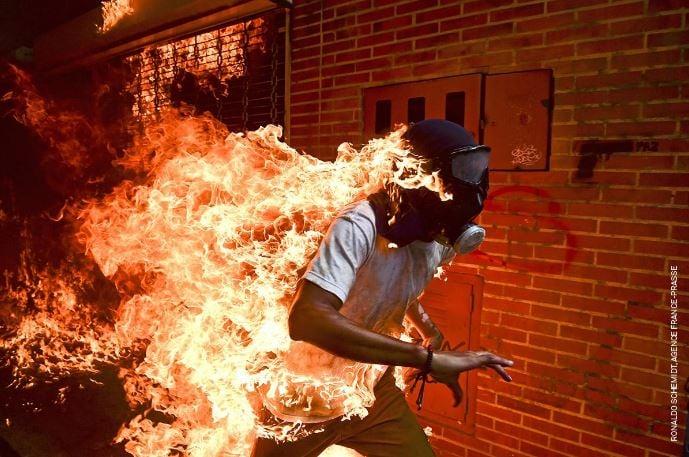 Photo By Agence France-Presse journalist Ronaldo Schemidt