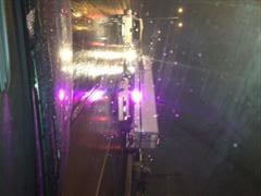 Jack-knifed semi at I90 and Broadway