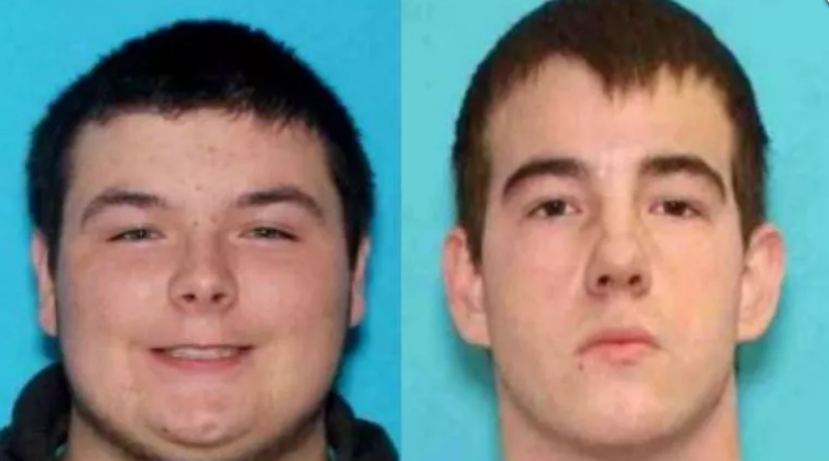 Keegan Tennant (left) was sentenced last month to 25 years in prison for killing Timothy Reeves. Matthew McKetta (right) has been given a sentence of 5 years probation