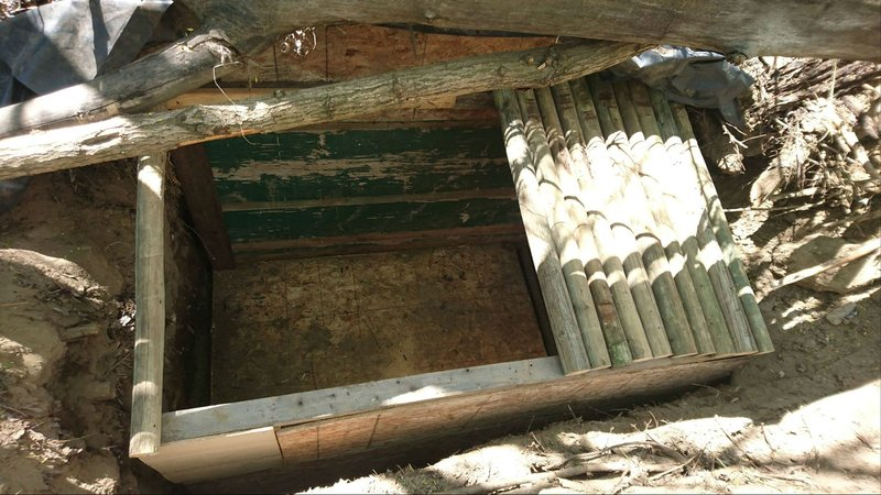 underground cave home. Courtesy Yakima Climate s Facebook page Secret underground cave home discovered in Sportsman Pa