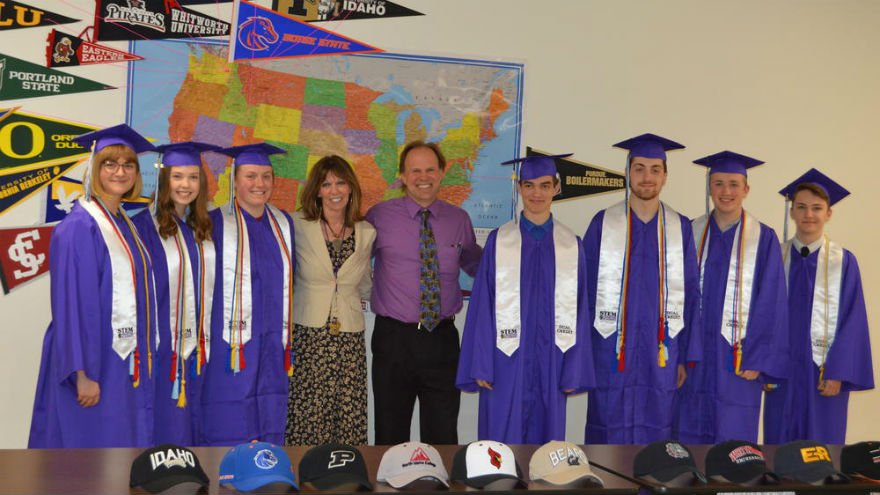 Photo courtesy: North Idaho STEM Charter Academy
