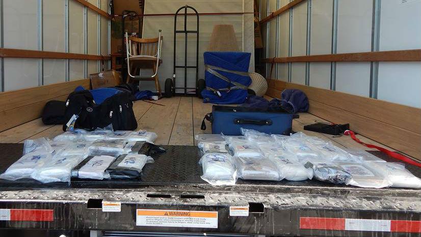 Ohio Highway Patrol Makes $3.7M Heroin, Meth Bust