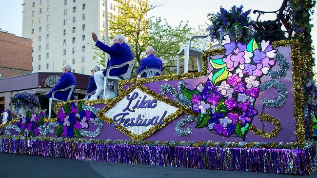 WATCH LIVE: 80th annual Spokane Lilac Festival Armed Forces Torchlight  Parade