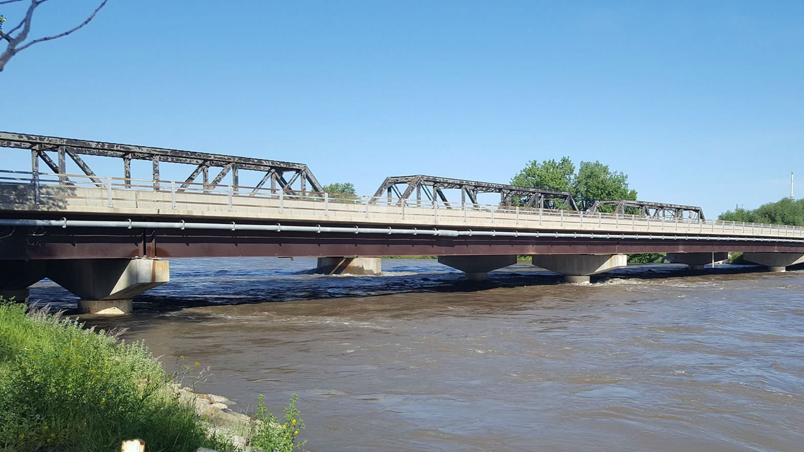 Image of Yellowstone River from 2017, Yellowstone County Sheriff's Office