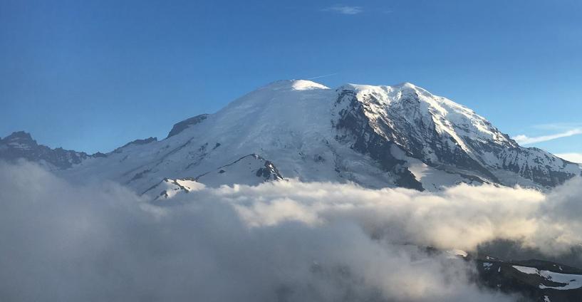 Mount Rainier National Park Facebook page