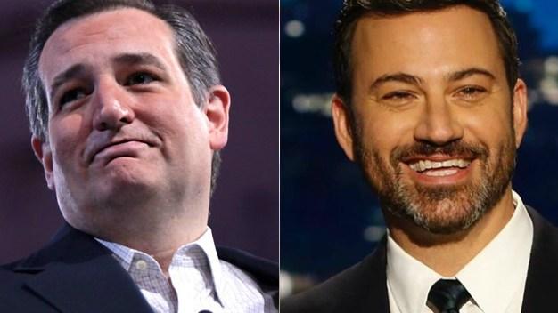 Cruz Photo: Gage Skidmore / CC BY-SA 2.0 - Kimmel Photo - Jimmy Kimmel Live Facebook