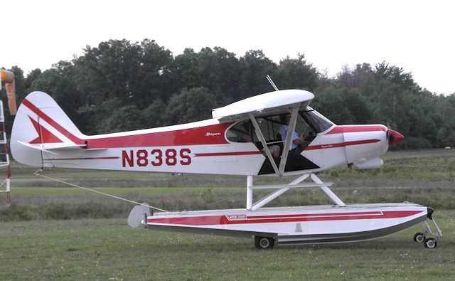 This is an example of the 1979 Piper PA-18-150 the pilot was flying from http://netnet.net