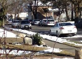 © Police Searching For Suspect Near Jefferson & Knox (Photo KHQ)