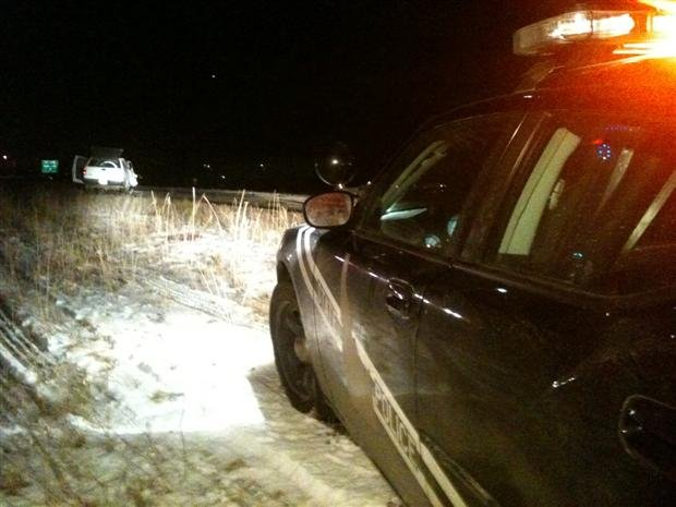 Idaho State Police Are Investigating A Fatal Accident At State Line (Photo KHQ's Patrick Erickson)