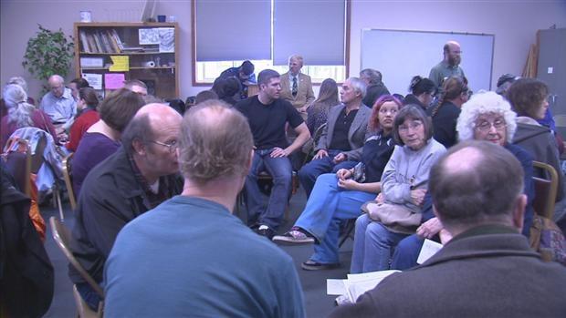 Citizens Gather At The Corbin Park Senior Center For Washington's GOP Caucus