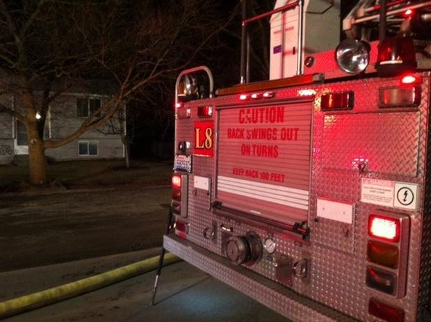 Spokane Valley Firefighters were called to a garage fire Tuesday night