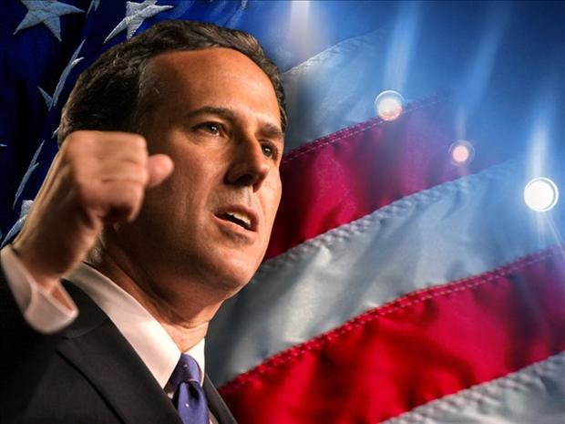 Rick Santorum Won The GOP Caucus In Kansas On Saturday