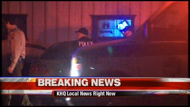 Authorities are investigating a shooting in Loon Lake Friday Night