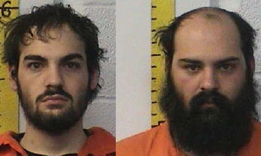 Daniel (left) and Frank Lazcano Jr. (Right) were arrested for the murder of 23-year-old Marcus Schur