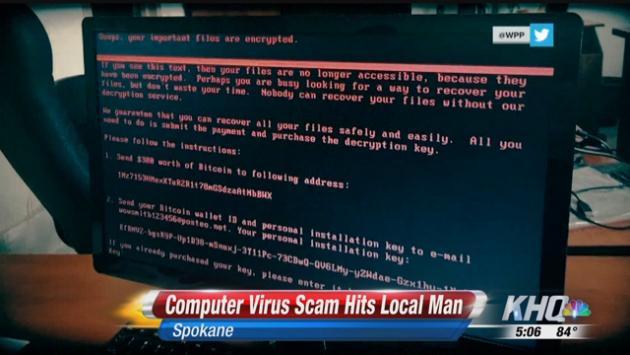 computer virus scam hits local man spokane north idaho news