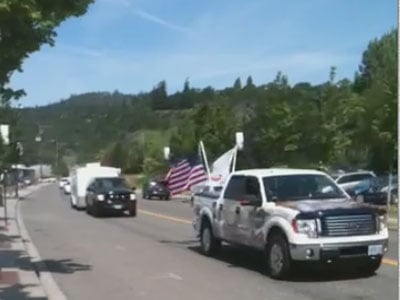 "The remains of Pfc. Gerald ""Mike"" Kight were brought back to Washington state 68 years after he died in Europe (Courtesy: Tim Hetzler)"