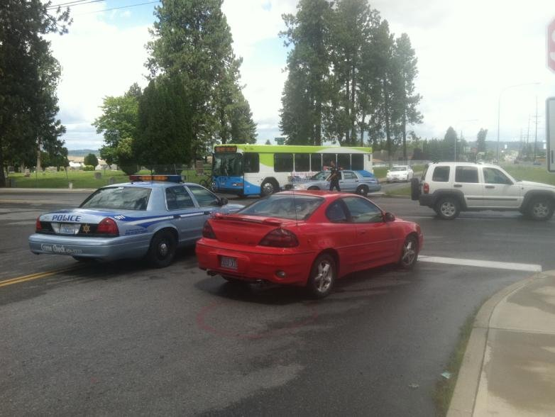 © Photo taken by KHQ's Chelsea Kopta at the crash scene