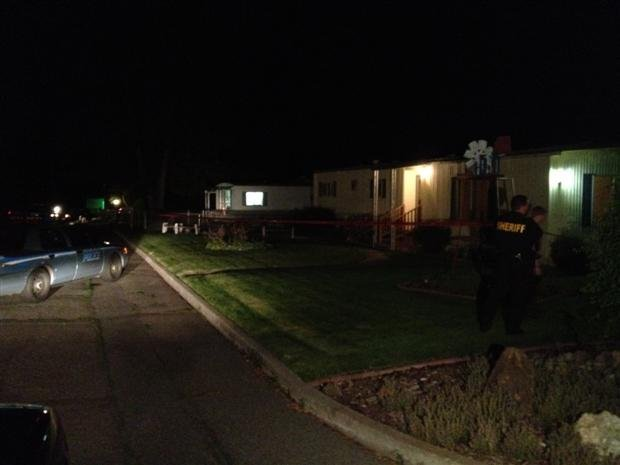 Spokane Valley Police are investigating a stabbing in the 19000 block of E. Marlin Tuesday night