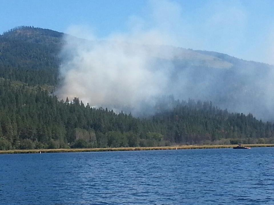 Brush fire in liberty lake spokane north idaho news for Liberty lake mercedes benz of spokane