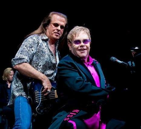 Elton Joel Band Elton John Billy Joel '