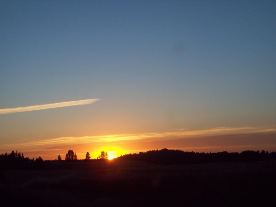 © Photo from Facebook friend Bettie Storms Hensley taken in Worley, Idaho