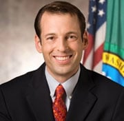 Andy Billig is running for election to the WA State Senate, Dist. 3.