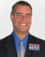 Tim Benn (R) is running for WA State House of Representatives - Dist. 3, Pos. 1