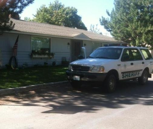 The home near Buckeye & Ella in Spokane Valley where the woman was arrested
