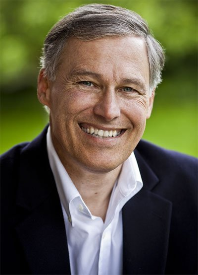 Jay Inslee (R) is running for Governor of the State of Washington