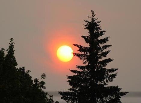 KHQ Friend Bill snapped this photo in Spokane, Wa