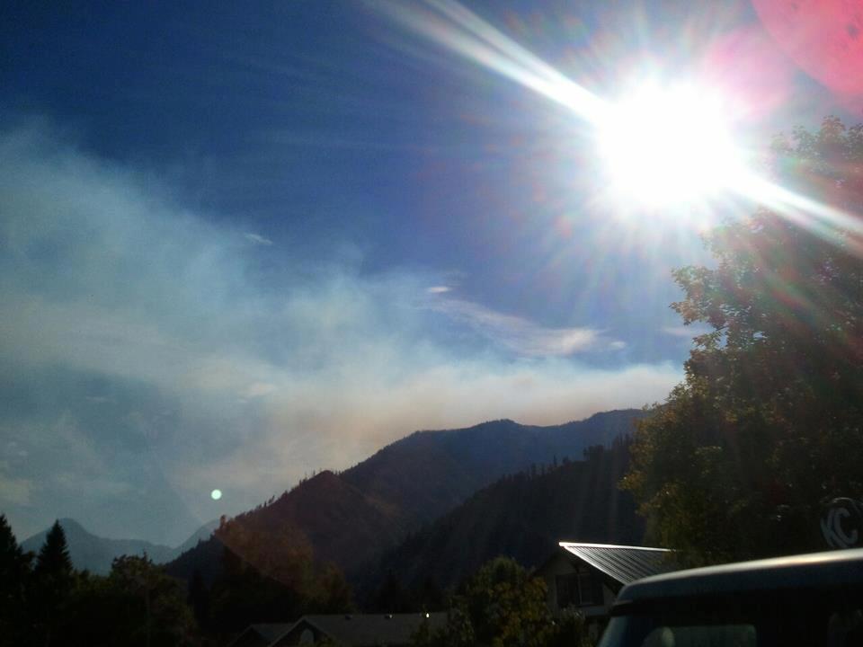 Photo courtesy Facbook friend Matthew Trowbridge taken in Leavenworth