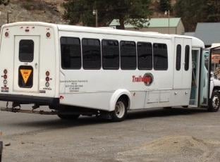 Photo of bus that was stolen